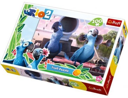 Puzzle 100 Trefl T-16243 Rio