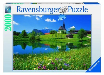 Puzzle 2000 Ravensburger 166602 Bawaria, Inzell