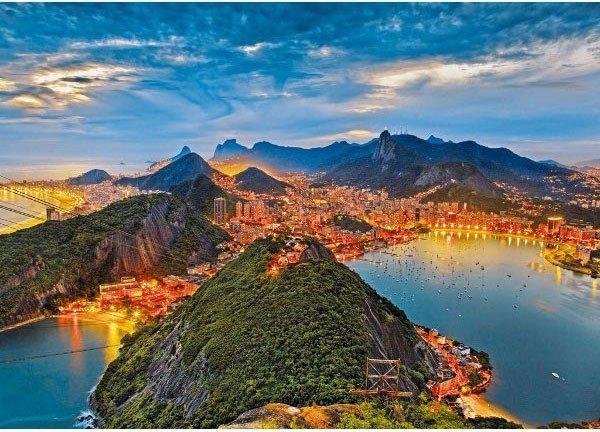 Puzzle 1000 Ravensburger 190522 Rio de Janeiro