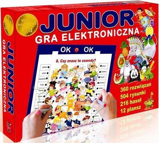 ! Junior Edukacyjna Gra Elektroniczna