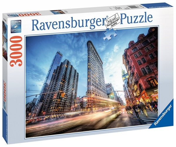 Puzzle 3000 Ravensburger 170753 New York - Flat Iron Building