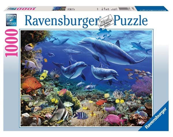 Puzzle 1000 Ravensburger 192373 Życie pod Wodą