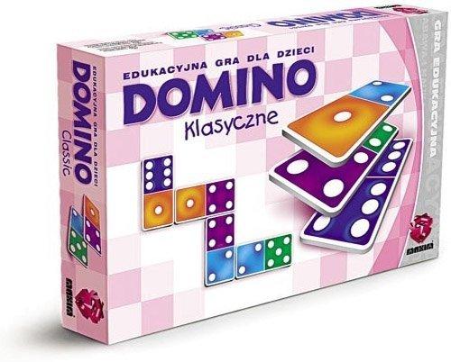 ! Gra Edukacyjna Maxim - Domino - Klasyczne - G28.01.01