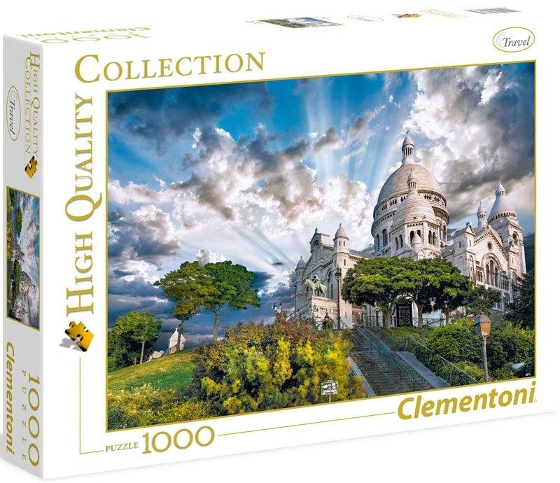 Puzzle 1000 Clementoni 39383 Montmartre