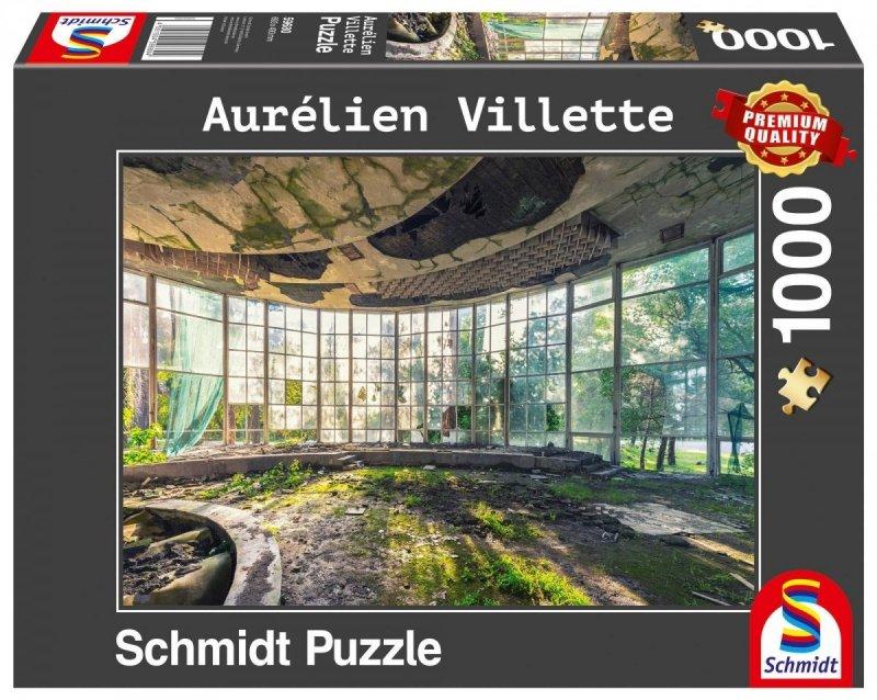 Puzzle 1000 Schmidt 59680 Aurelien Villette - Kawiarnia w Abchazji