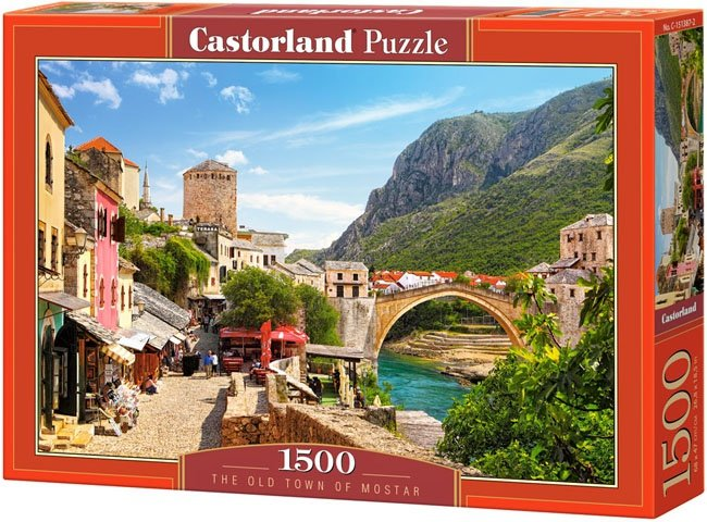 Puzzle 1500 Castorland C-151387 Most - The Old Town of Mostar