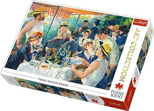 Puzzle 1000 Trefl 10499 Art Collection - Śniadanie Wioślarzy