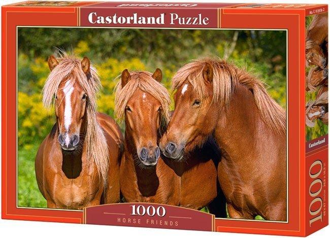 Puzzle 1000 Castorland C-103959 Trzy Konie