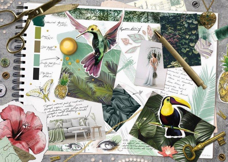 Puzzle 1000 Schmidt 58354 Ptaki - Inspiracje