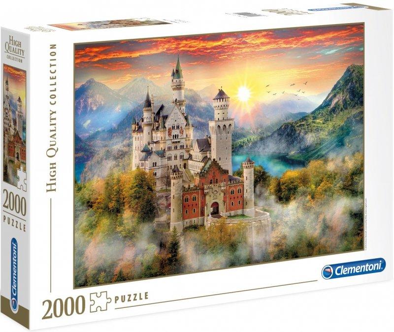 Puzzle 2000 Clementoni 32559 Zamek Neuschwanstein