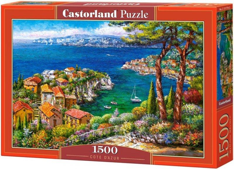 Puzzle 1500 Castorland C-151776 Riwiera Francuska