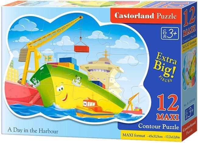 Puzzle 12 Maxi Castorland B-120130 Praca w Porcie