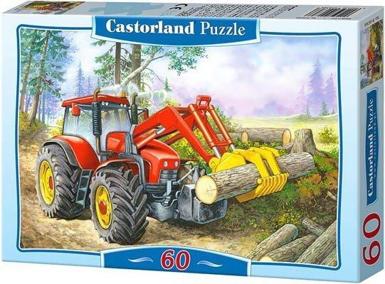 Puzzle 60 Castorland B-06601 Traktor - Forest Site