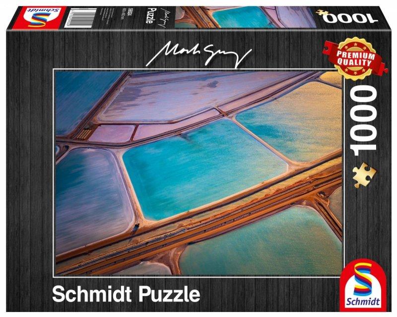 Puzzle 1000 Schmidt 59924 Mark Gray - Mozajka