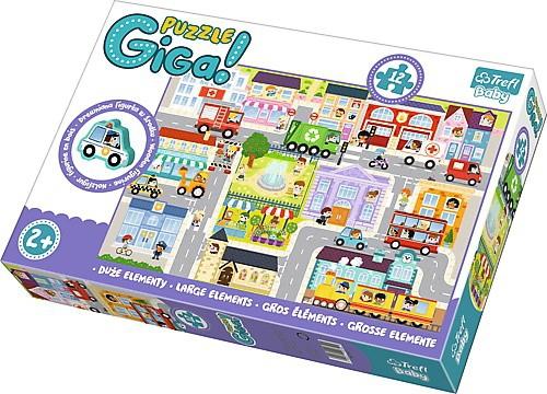 Puzzle Baby Gigantic Trefl T-90754 Miasto