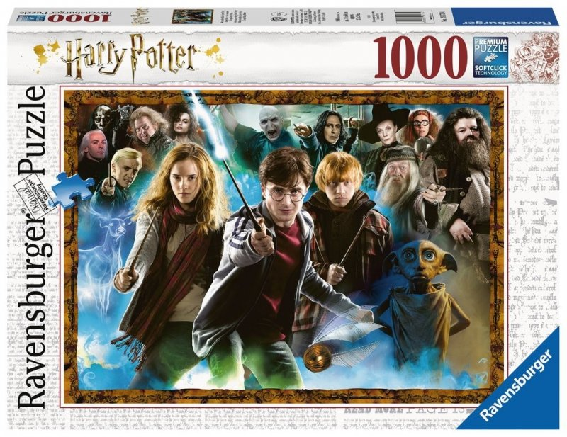 Puzzle 1000 Ravensburger 151714 Harry Potter - Znajomi z Hogwartu