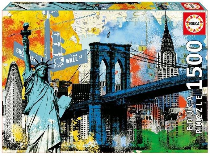 Puzzle 1500 Educa 17120 Miejska Wolność