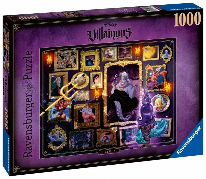 Puzzle 1000 Ravensburger 150274 Mała Syrenka - Czarne Charaktery