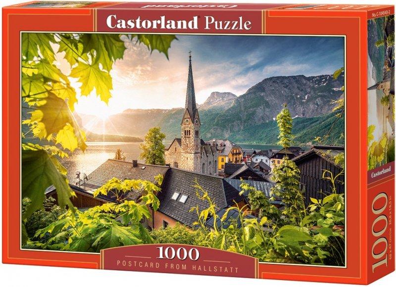 Puzzle 1000 Castorland 104543 Pocztówka z Hallstatt