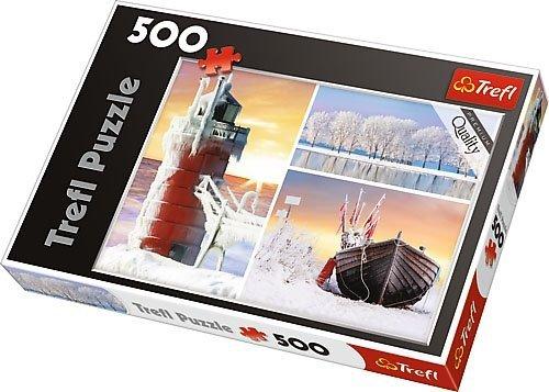 Puzzle 500 Trefl 37242 Zima