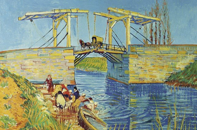 Puzzle 3000 Ravensburger 170654 Van Gogh - Brucke von Langlois