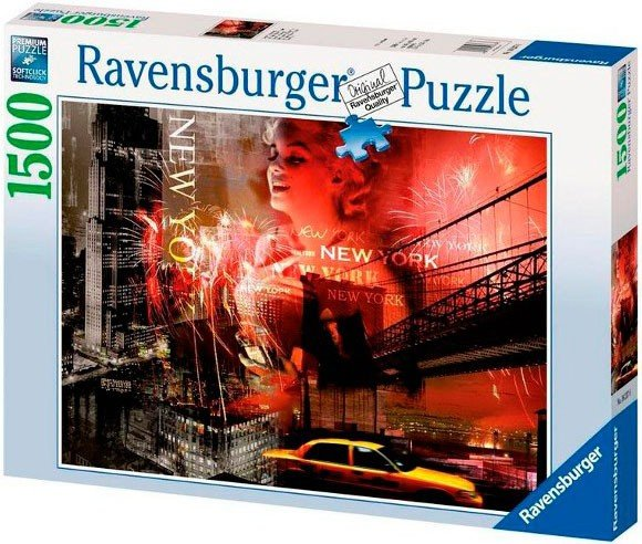 Puzzle 1500 Ravensburger 162376 New York