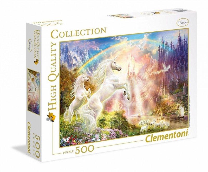 Puzzle 500 Clementoni 35054 Jednorożce