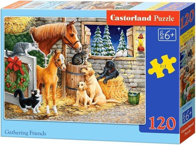 Puzzle 120 Castorland B-13340 Zwierzęta w Zagrodzie