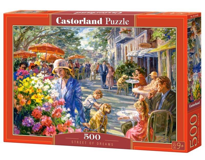 Puzzle 500 Castorland B-53438 Ulica z Marzeń