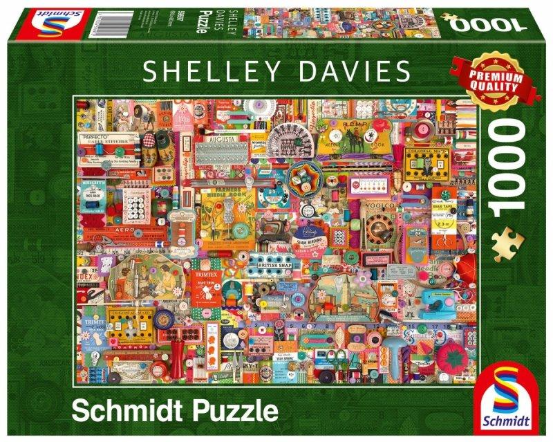Puzzle 1000 Schmidt 59697 Shelley Davies - Shelley Davies - Akcesoria do Szycia