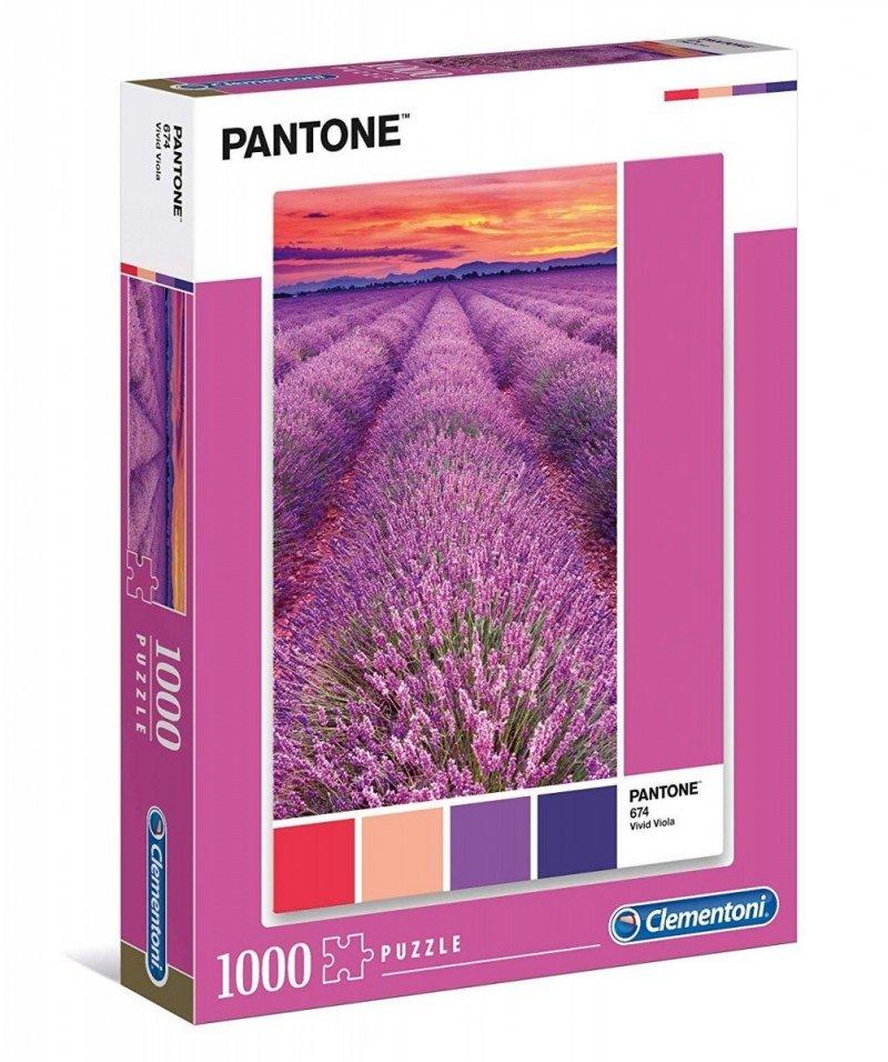 Puzzle 1000 Clementoni 39493 Pantone - Lawendowe Pole