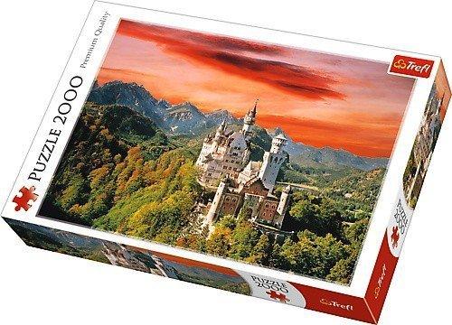 Puzzle 2000 Trefl 27050 Nowy Łabędzi Kamień -  Bawaria