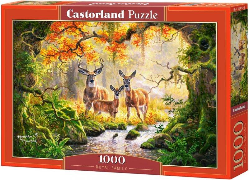 Puzzle 1000 Castorland 104253 Jelenie - Rodzina Królewska