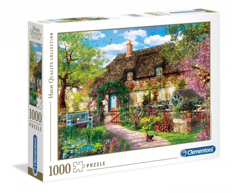 Puzzle 1000 Clementoni 39520 Malowniczy Stary Dom