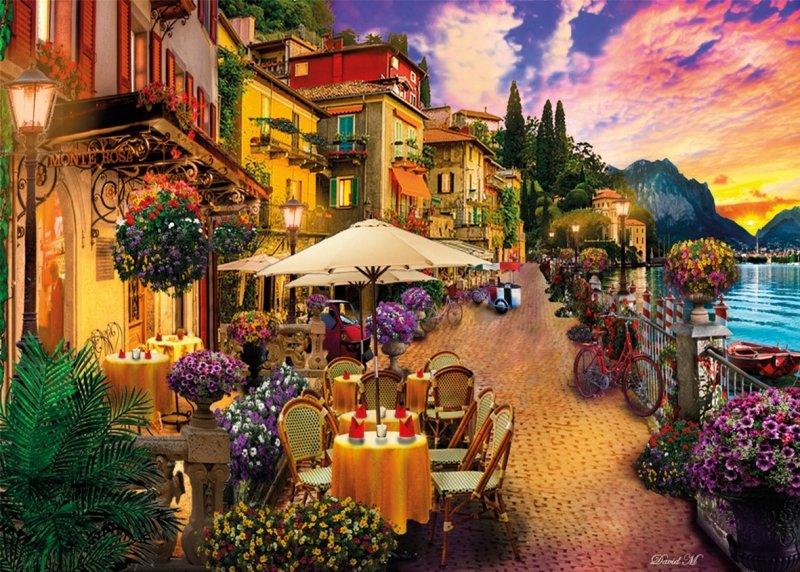 Puzzle 500 Clementoni 35041 Kawiarenka - Monte Rosa Dreaming