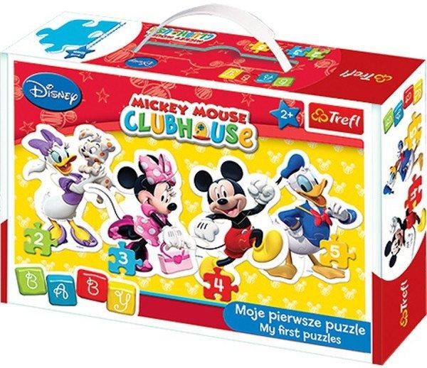 Puzzle Baby Classic Trefl T-36060 Myszka Miki