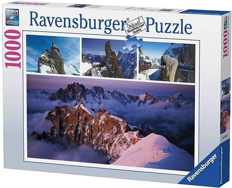 Puzzle 1000 Ravensburger 196715 Alpejska Zima