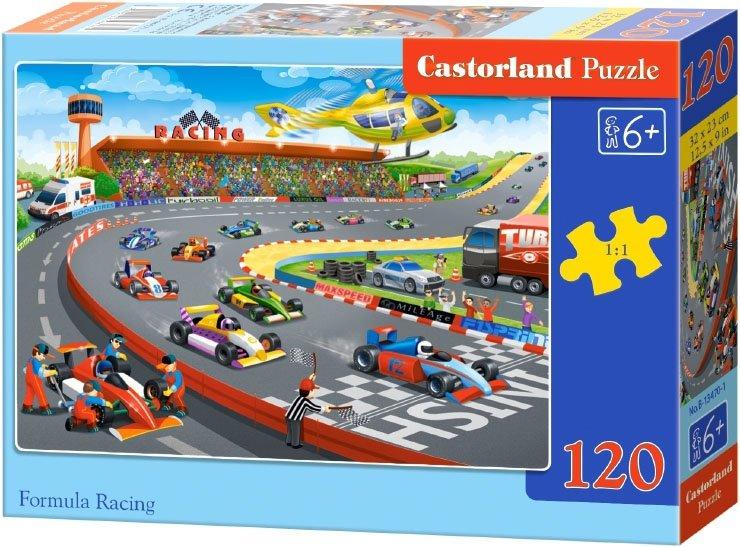Puzzle 120 Castorland B-13470 Tor Wyścigowy