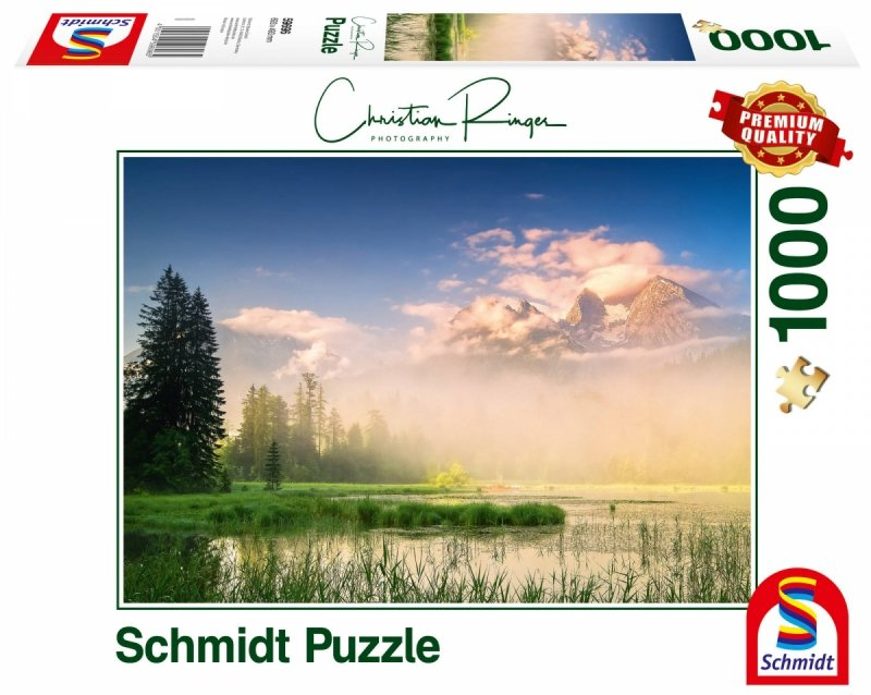 Puzzle 1000 Schmidt 59696 Christian Ringer - Jezioro Taubensee - Austria