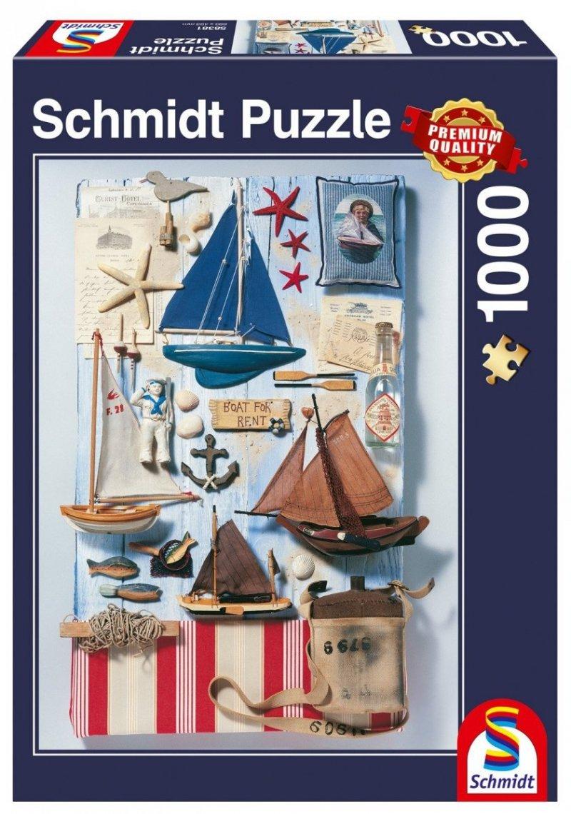 Puzzle 1000 Schmidt 58381 Morskie Potpourri