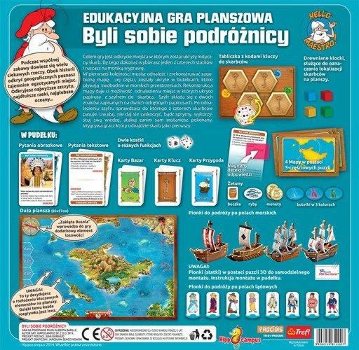Gra Edukacyjna 2007 Hippocampus - Byli Sobie Podróżnicy