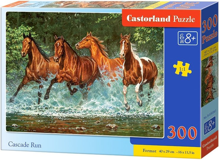 Puzzle 300 Castorland B-030361 Konie