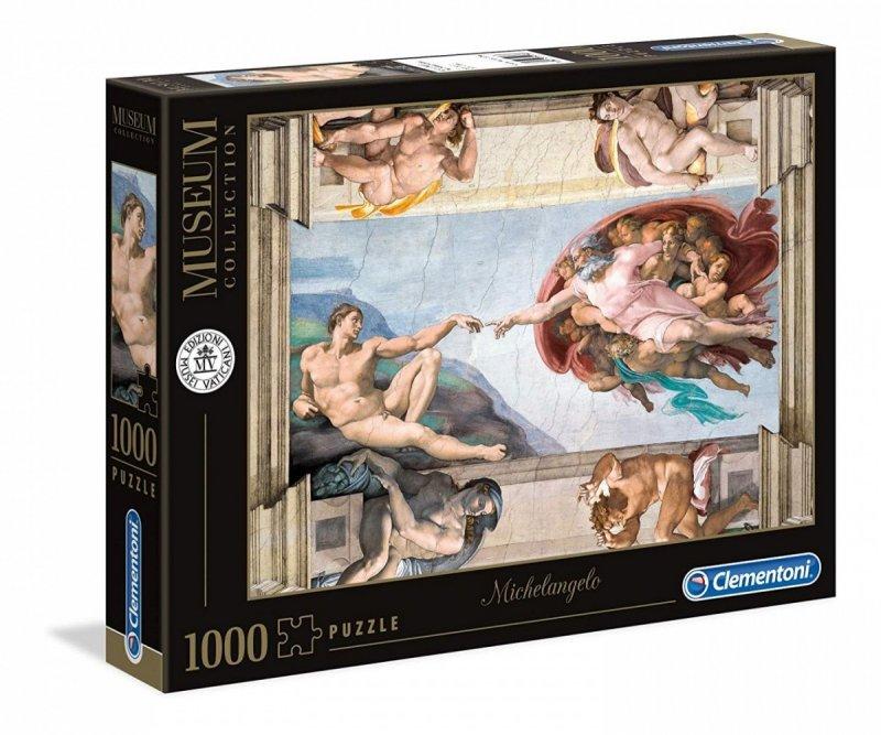 Puzzle 1000 Clementoni 39496 Stworzenie Człowieka