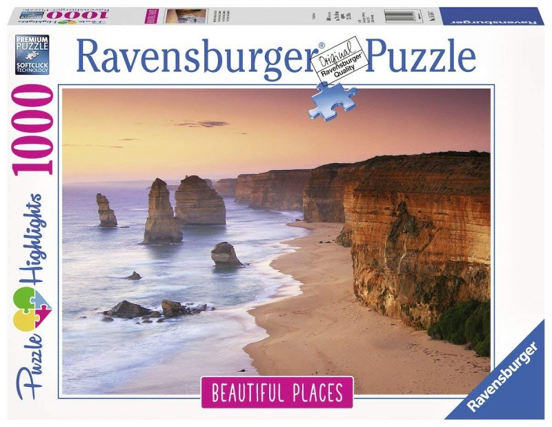 Puzzle 1000 Ravensburger 151547 Droga nad Oceanem - Australia