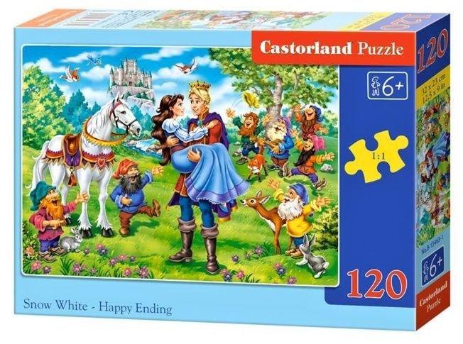 Puzzle 120 Castorland B-13463 Królewna Śnieżka