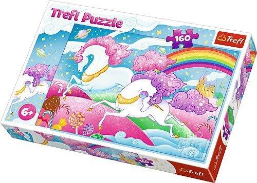 Puzzle 160 Trefl 15372 Galopujący Jednorożec