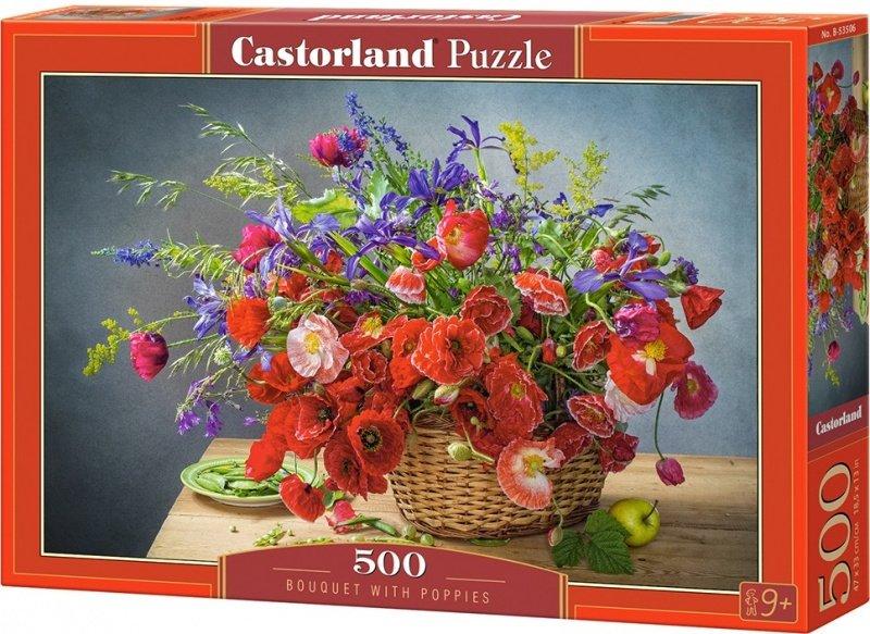 Puzzle 500 Castorland B-53506 Bukiet z Makami