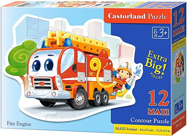Puzzle 12 Maxi Castorland B-120109 Straż Pożarna