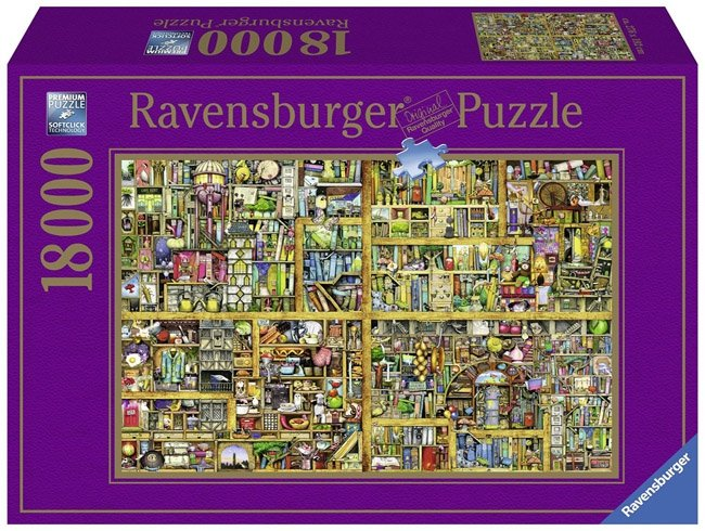 Puzzle 18000 Ravensburger 178254 Magiczna Biblioteczka