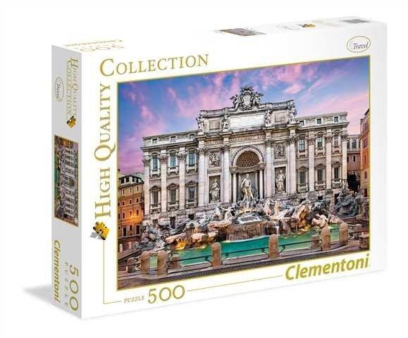 Puzzle 500 Clementoni 35047 Fontanna di Trevi - Rzym
